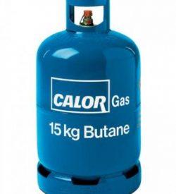 Calor butane gas 15kg cylinder
