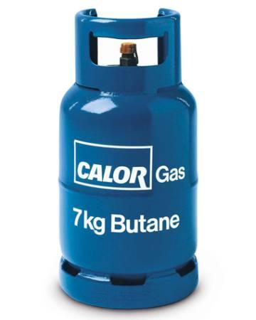 Calor butane gas 7kg cylinder