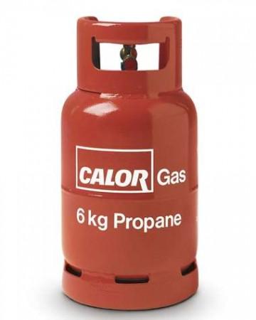 Calor propane gas 6kg cylinder