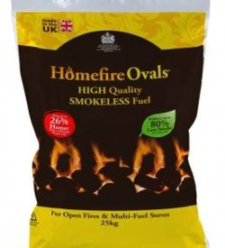 homefire ovals smokeless coal 25kg bag