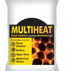 multiheat smokeless coal bag