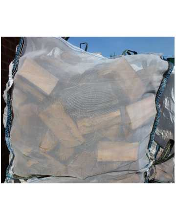 firewood logs bulk bag