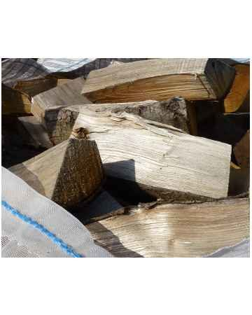 firewood logs close up image