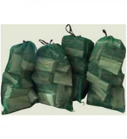 softwood firewood logs net bag image