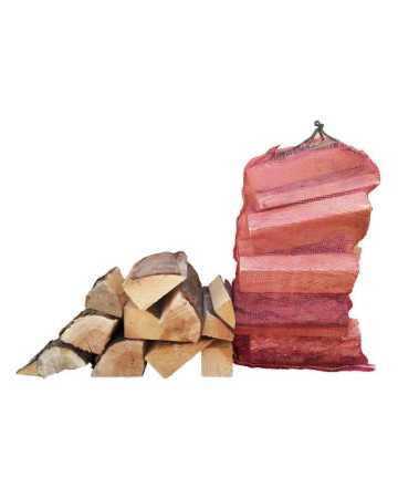 hardwood firewood logs net bag image