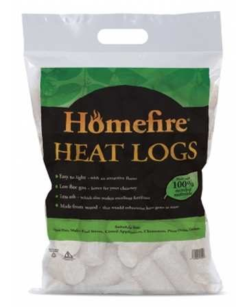 homefire heat logs bag