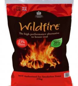 wildifre house coal 25kg bag