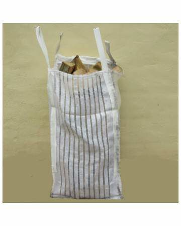 kiln dried firewood logs in barrow bag