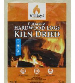 kiln dried hardwood firewood logs grab bag flat
