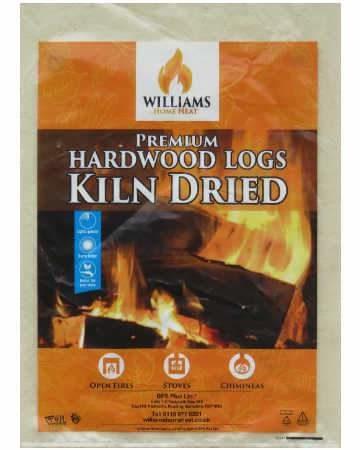 kiln dried hardwood firewood logs grab bag flat